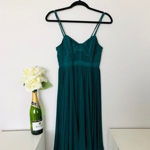 Victoria's Secret   Emerald Green Dress